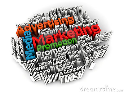 marketing selling and advertising Marketing refers to the activities of a company associated with buying, advertising, distributing or selling a product or service.